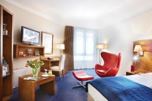 Ein Zimmer in der Unterkunft Golden Tulip Bielefeld City