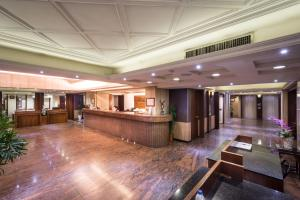 The lobby or reception area at The Enterpriser Hotel