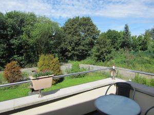 Ein Balkon oder eine Terrasse in der Unterkunft Haus Kummer Strandweg