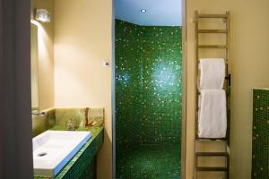 A bathroom at Fanhams Hall, Exclusive Collection