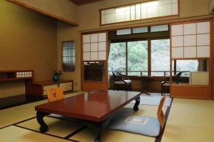 A seating area at Iwaso