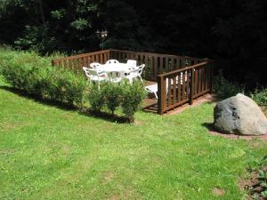 A garden outside Le Deyran