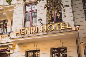 Majoituspaikan Henri Hotel Berlin Kurfürstendamm julkisivu tai sisäänkäynti
