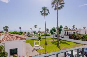 A balcony or terrace at Apartamentos Moran
