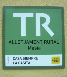 A certificate, award, sign, or other document on display at River Ebro Holidays