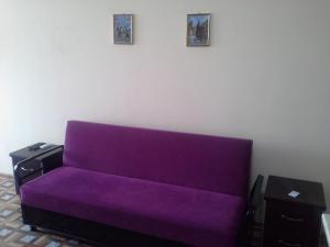 A seating area at Beach Apartment Rustaveli