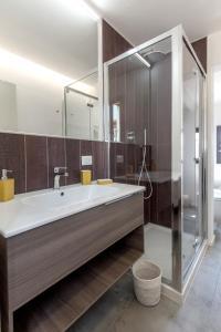 A bathroom at BBCHARME La Casa Sui Tetti