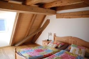 Ein Zimmer in der Unterkunft Carles Scheunenhof