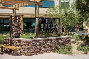 A porch or other outdoor area at The Berkley, Las Vegas