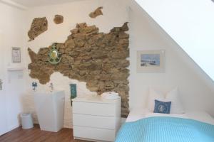 Cama o camas de una habitación en Gasthaus Schiff