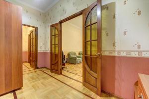 Двухъярусная кровать или двухъярусные кровати в номере Apartament Ulyany Gromovoy