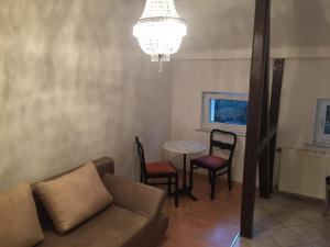 Lounge oder Bar in der Unterkunft Apartments Chemnitz Central Elbsandstein