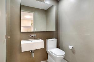 A bathroom at Studio# on Collins