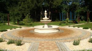 Ogród w obiekcie Willa Puławianka