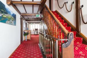 Lounge oder Bar in der Unterkunft Hotel Höfli