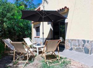 A porch or other outdoor area at Tu Casa en Barcelona