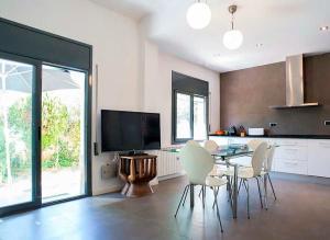 A seating area at Tu Casa en Barcelona