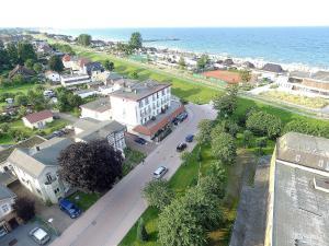Blick auf Seehotel Lönö aus der Vogelperspektive