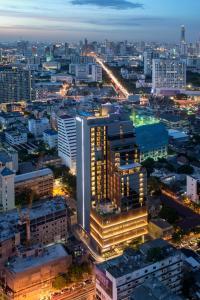 A bird's-eye view of Amara Bangkok Hotel
