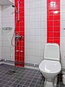 A bathroom at Mosebacke Hostel