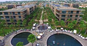 A bird's-eye view of Salgados Palm Village Apartments & Suites - All Inclusive