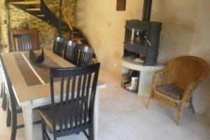 A seating area at Grange de la Motte