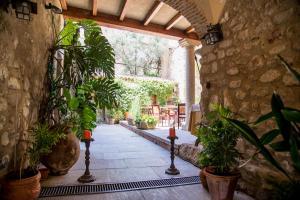 Un patio o zona al aire libre en Hotel Boutique Posada Dos Orillas