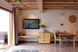 TV/Unterhaltungsangebot in der Unterkunft Studio A Am Burgberg