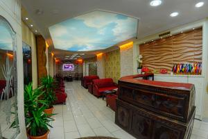 The lounge or bar area at Hotel Ekmekçiler