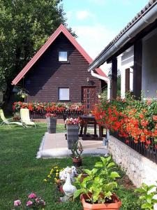 Patio nebo venkovní prostory v ubytování Apartment Perić