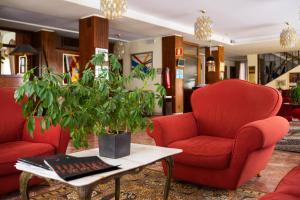 O lounge ou bar de Hotel Rigel