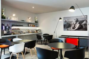 Restaurant ou autre lieu de restauration dans l'établissement Citadines Presqu'île Lyon