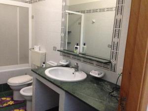 A bathroom at Casa Saputo