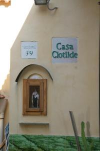 Facciata o entrata di Casa Clotide