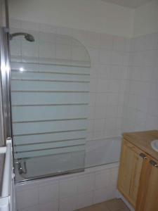 A bathroom at Le Hameau des Neiges