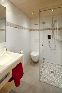Ein Badezimmer in der Unterkunft Aparthotel Brunnenhof