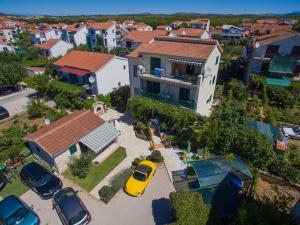 Letecký snímek ubytování Apartments Sara