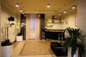 The lobby or reception area at Gorodok