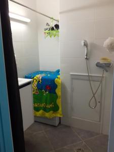 A bathroom at Asia in Paris
