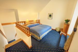 Ett rum på Hotel de France Wien