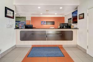 The lobby or reception area at Motel 6-Dallas, TX - Forest Lane