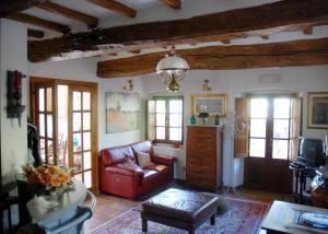 A seating area at B&B Elisir Toscana