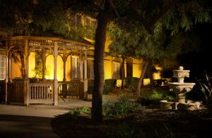 A porch or other outdoor area at Larkspur Landing Folsom-An All-Suite Hotel