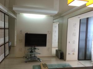 Телевизор и/или развлекательный центр в Studio in Vladivostok