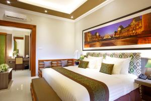 A room at The Banyumas Suite Villa Legian