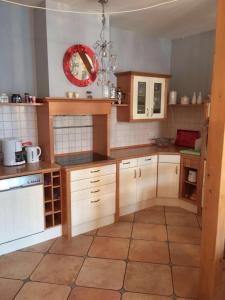Küche/Küchenzeile in der Unterkunft Exklusiv