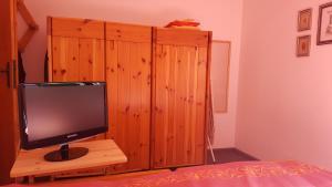TV o dispositivi per l'intrattenimento presso Santa Elisabetta Apartment
