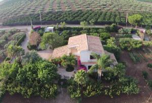 Vista aerea di Villa Zahara