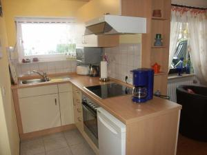 Küche/Küchenzeile in der Unterkunft Ferienwohnung Panoramablick