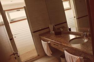 A bathroom at Motel Paraiso